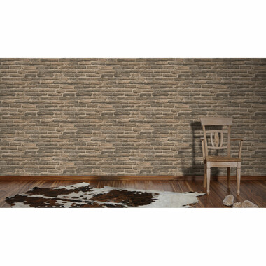 Tapete Decoworld 2 Backsteine Beige