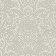 Tapete Luxury wallpaper Ornamente Glasperlen Silber
