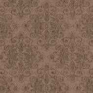 Tapete Midlands Ornamente Braun Gold