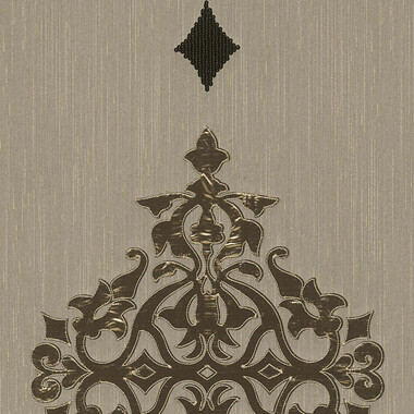 Designpanel AP Wall Fashion Taupe Ornament Metallic