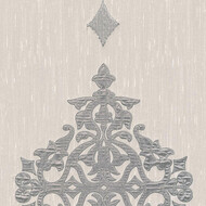 Designpanel AP Wall Fashion Hellgrau Ornament Metallic