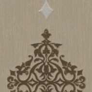 Designpanel AP Wall Fashion Ornament Silber Metallic