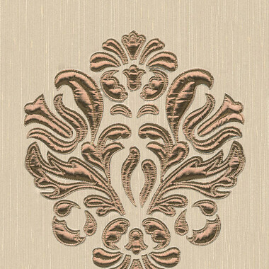 Designpanel AP Wall Fashion Creme Kupfer Ornament