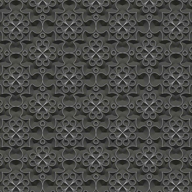 Vliestapete Simply Decor Metallic Schwarz