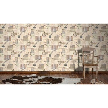 Tapete Simply Decor Beige Braun