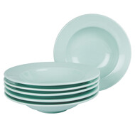 6er Set Pastateller Riva Soft Mint