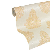 Tapete Nobile Creme Metallic Ornamente