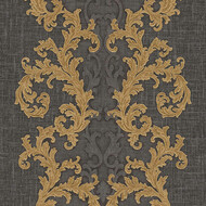 Baroque & Roll Versace Ornament Tapete Gemustert...